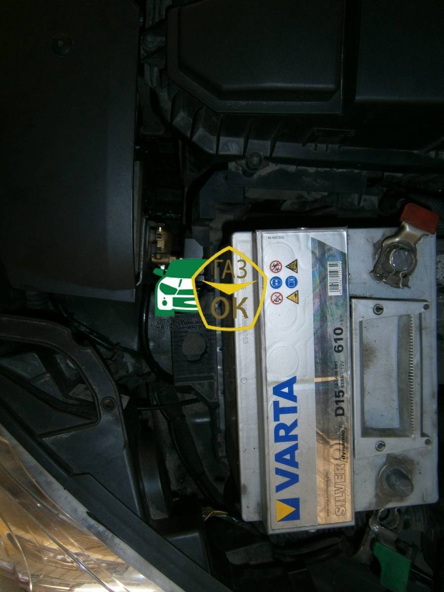 Installation of gas equipment on peugeot 407 gaz ok 6 - Installation plaque gaz ...