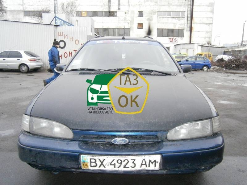 Installation of gas equipment on Ford Mondeo : Gaz-Ok