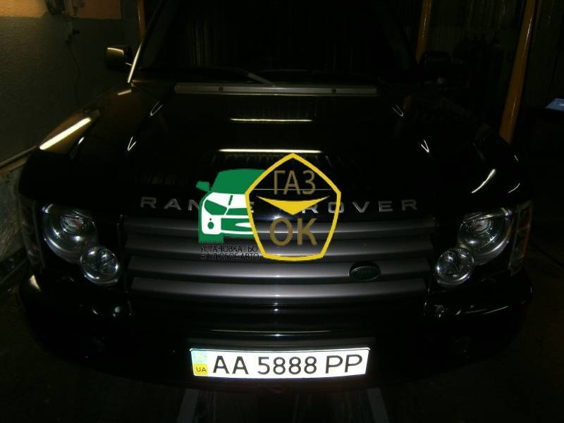 Installation of gas equipment on Range Rover : Gaz-Ok