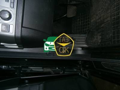 Installation of gas equipment on BMW 745 E65 : Gaz-Ok