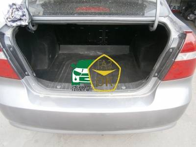 Installation of gas equipment on Chevrolet Aveo 1.5 : Gaz-Ok