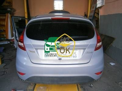 Installing GBO on the car Ford Fiesta gas to the car Gaz Ok Gas OK Kiev