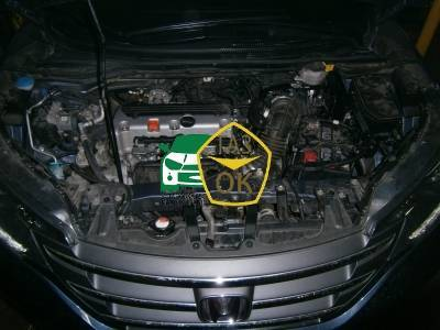 Installation of gas equipment on Honda CR-V : Gaz-Ok