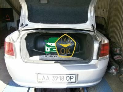 Installation of gas equipment on Opel Vectra : Gaz-Ok