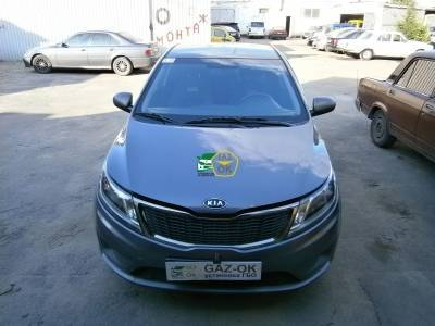 Installation on HBO KIA RIO: Gaz-ok