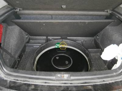 Installation of gas equipment on Volkswagen Golf