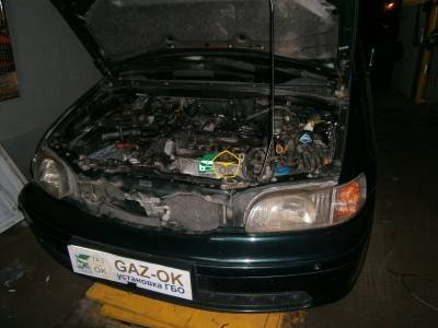 GBO installation on auto HONDA Shuttle gas on car Gaz Ok Gas OK Kiev