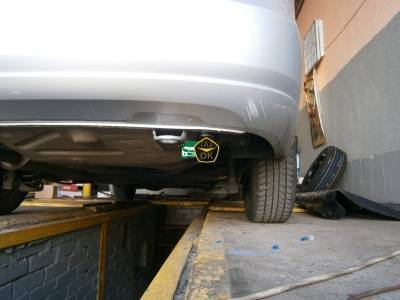 Installing GBO on the car Volkswagen Polo gas to the car Gaz Ok Gas OK Kiev