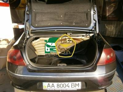 Installation of gas equipment on Peugeot 407 : Gaz-Ok