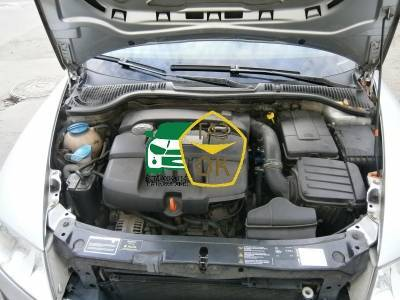 Installation of gas equipment on Skoda Octavia A5 : Gaz-Ok