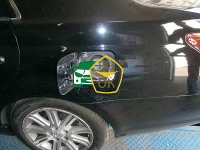 Installation of gas equipment on Toyota Avalon : Gaz-Ok