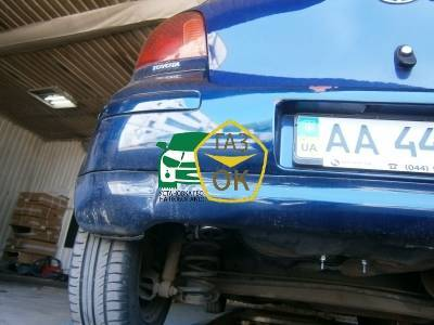 Installation of gas equipment on Toyota Yaris : Gaz-Ok