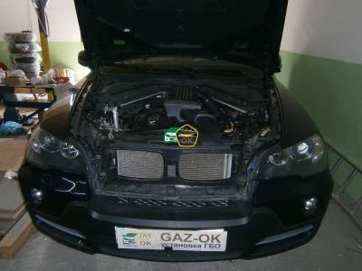 Installing GBO on the car BMW E70 3.0 gas to the car Gaz Ok Gas OK Kiev