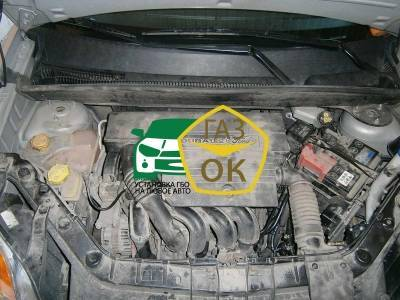 Installing GBO on the car Ford Fusion 1.4 gas to the car Gaz Ok Gas OK Kiev