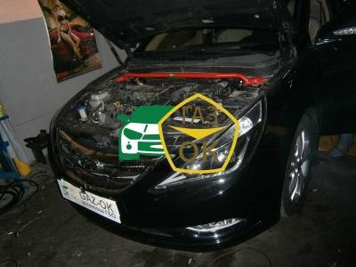 Installation of gas equipment on Hyundai Sonata 2011 : Gaz-Ok