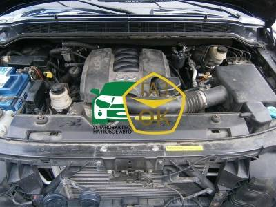 Installation of gas equipment on Infiniti QX56 : Gaz-Ok