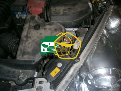 The installation of GBO on the car Peugeot 308 1.6 THP gas to the machine Gaz Ok Gas OK Kiev