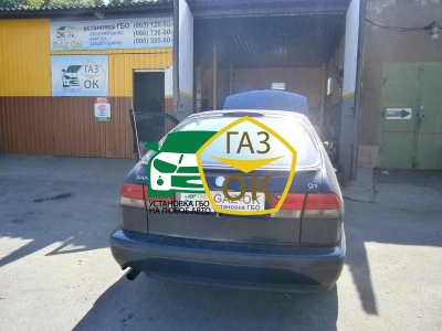 Installation of gas equipment on Saab 93 : Gaz-Ok