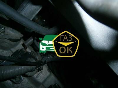 Installation of gas equipment on Toyota Land Cruiser 200 : Gaz-Ok