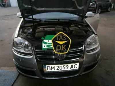 Installation of gas equipment on Volkswagen Jetta : Gaz-Ok