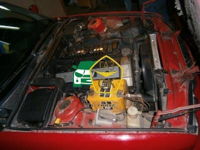 Installation of gas equipment on BMW E34 : Gaz-Ok