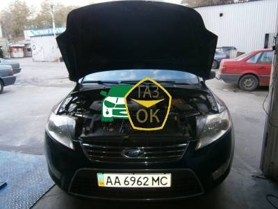 Installation of gas equipment on Ford Mondeo 2.0 : Gaz-Ok
