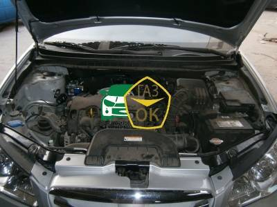 Installation of gas equipment on Hyundai Elantra 1.6 : Gaz-Ok